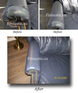 Leather Restoration Result 1