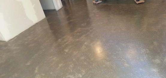 Basement Concrete Floor Polishing Floors Refinishing