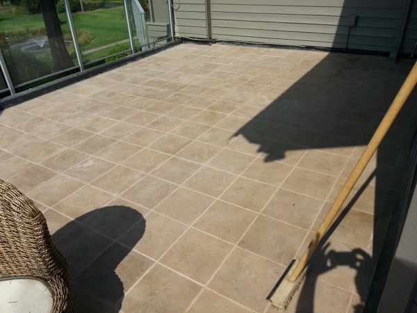 Tile Deck Regrouting Floors Refinishing Grinding